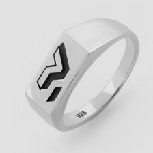 Серебряное кольцо Пушка