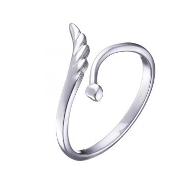 """Серебряное кольцо """"Крыло"""" 1006"""