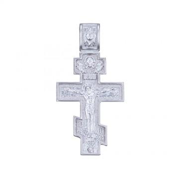 Серебряный крестик с Распятием Христа 32120