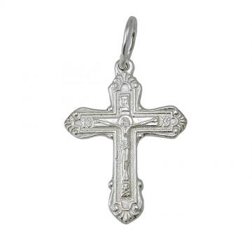Серебряный крест с Распятием 3215