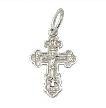 Серебряный крест с Распятием 3217