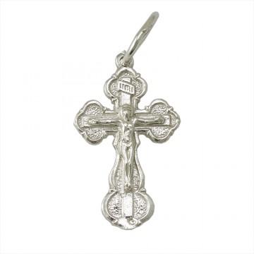 Серебряный крест с Распятием 3218