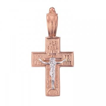 Золотой крестик с Распятием Христа z3209-K