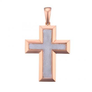 Золотой крестик z32122-K