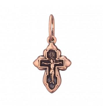 Золотой крестик с Распятием Христа z3219-K