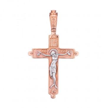 Золотой крестик с Распятием Христа z3224-K